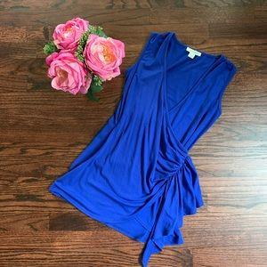 Boston Proper royal blue top, size XXS